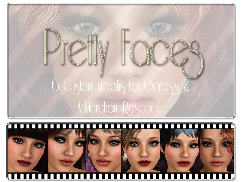 3DS Pretty Faces Genesis 2 MR by 3DSublimeProductions