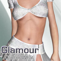 Glamour for Cool or What 3D Figure Assets ANG3L_R3D