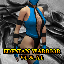 Edenian Warrior 3D Figure Essentials ka06059
