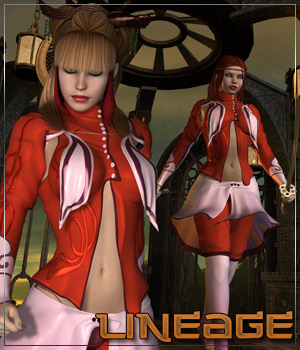 LINEAGE for Saladina 3D Figure Essentials 3D Models Anagord