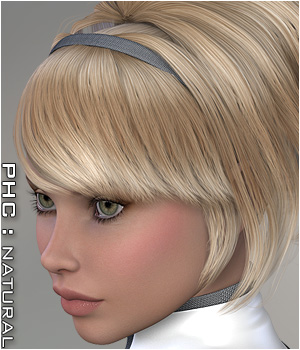 PHCNatural : Jewell Software Hair Themed P3D-Art
