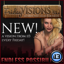 i13 Friday Visions Vol1 Poses/Expressions Themed Software ironman13