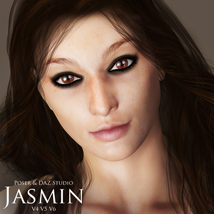 Jasmin for V4, V5 & V6 3D Figure Essentials adamthwaites
