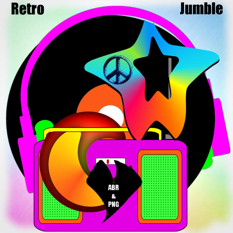 Retro Jumble - .ABR & .PNG