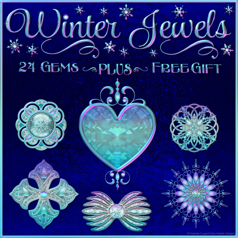 Winter Jewels with Free Gift