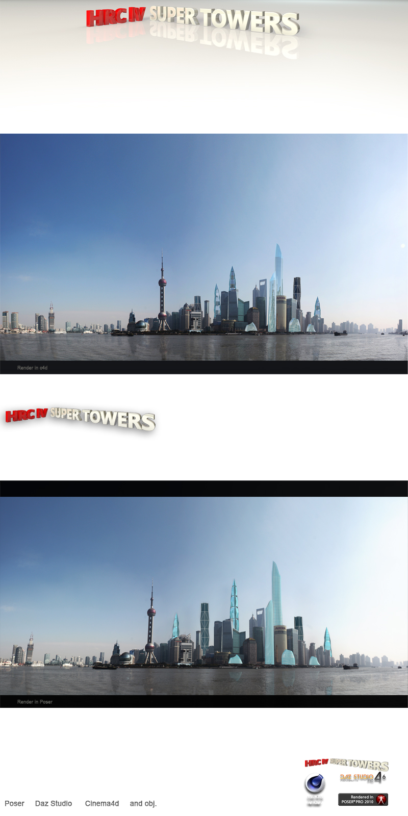 hrclV Super Towers