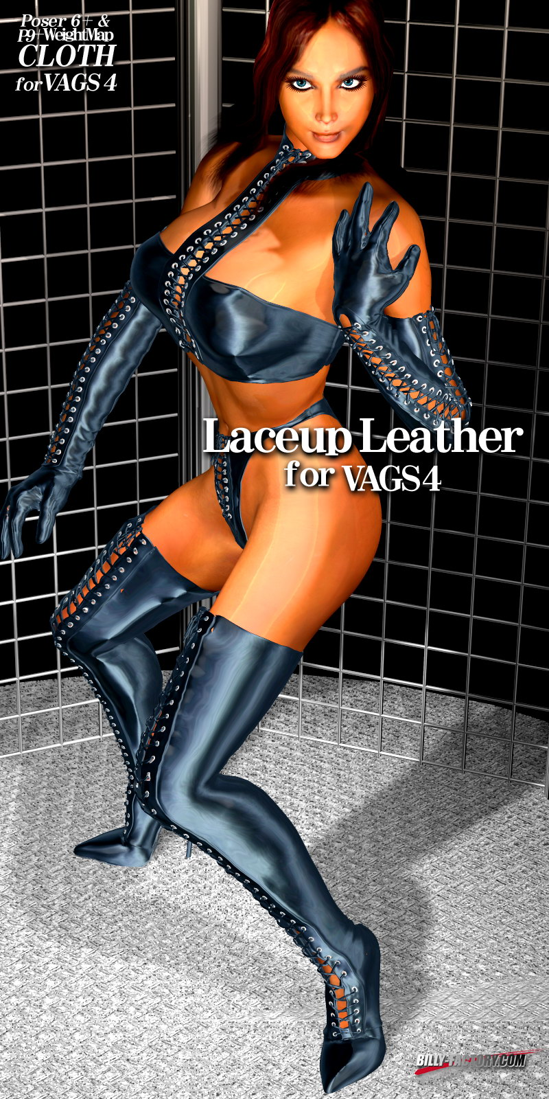 V4 Laceup Leather
