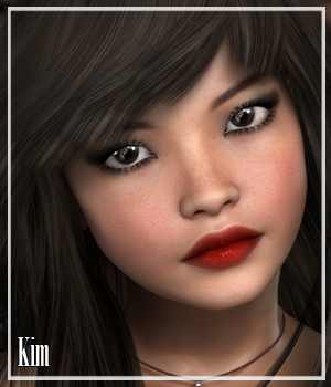 VH Kim 3D Models 3D Figure Essentials Godin