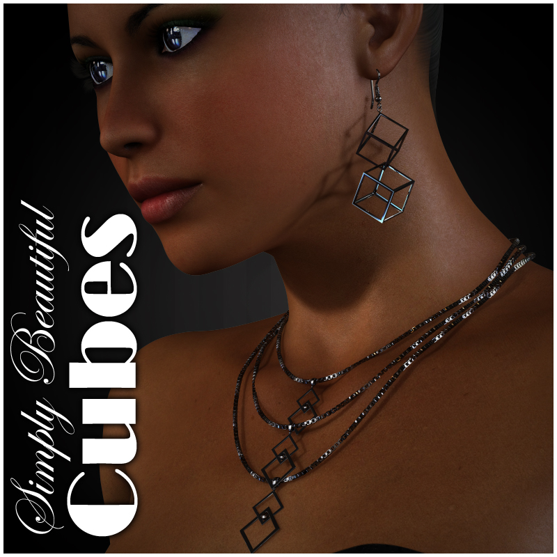 Simply Beautiful - Cube Jewelry for V4