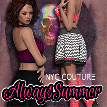 NYC Couture: Always Summer 3D Figure Assets 3DSublimeProductions