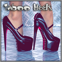 Taboo Heels 3D Figure Essentials SynfulMindz