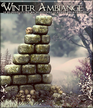 Winter Ambience 2D Graphics Sveva