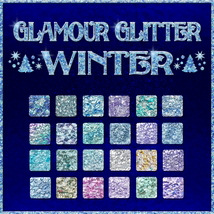 BLING! GLAMOUR GLITTER-Winter 2D And/Or Merchant Resources Themed fractalartist01