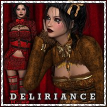 Deliriance Clothing Themed sandra_bonello