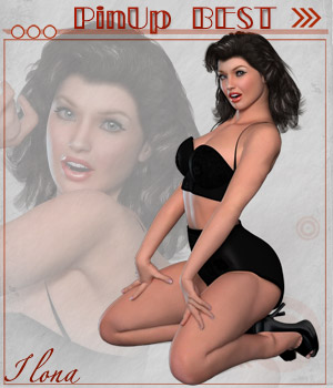 Pin Up Best 3D Figure Assets 3D Models ilona