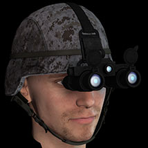 Helmet with NV Goggles Themed Clothing coflek-gnorg