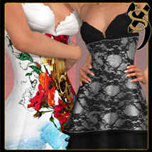 Add-on Bundle for 2P3D Clothing Sets by ShoxDesign. Buy 4 Get 1 Free.
