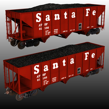 ATSF FREIGHT TRAINBUNDLE for Poser image 4