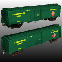 ATSF FREIGHT TRAINBUNDLE for Poser image 7