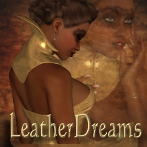 LeatherDreams for Corset Contessa Themed Clothing Bow3D