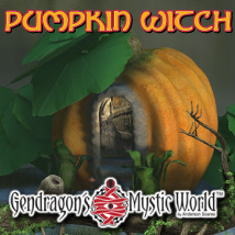 G3D Pumpkin Witch 3D Models Razor42