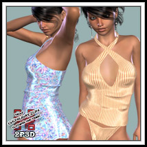 Sheltess Clothing 2P3D