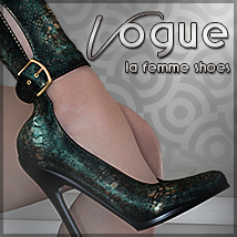 Vogue for LaFemme Shoes Themed Footwear Sveva