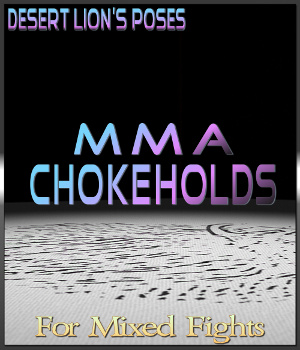 MMA Choke Set - M4 vs. V4 Edition 3D Figure Essentials Desert_Lion