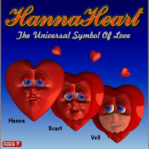 Hanna Heart 3D Models pappy411