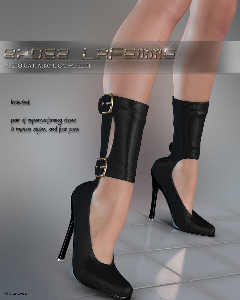 Shoes Lafemme V4/A4/G4