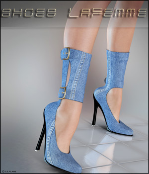 Shoes Lafemme V4/A4/G4 3D Figure Essentials lilflame