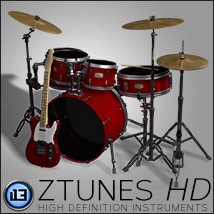 i13 zTunes HD Themed Software Props/Scenes/Architecture ironman13