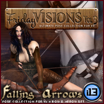 i13 Friday Visions Vol3  Themed Poses/Expressions Software ironman13