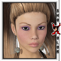 ShoXoloR for Piggy Tails Hair 3D Figure Essentials ShoxDesign