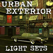 Urban Exterior Lights set Software 3D Models coflek-gnorg