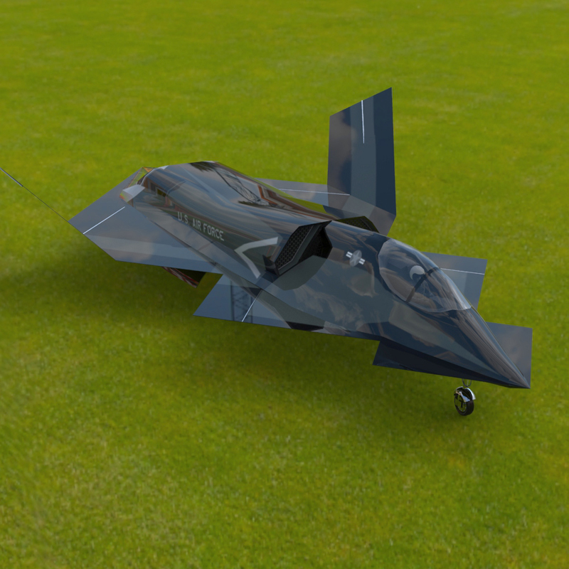 YF-23 Phantom (for Poser)