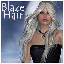 Blaze Hair 3D Figure Essentials Propschick