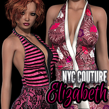 NYC Couture: Elizabeth 3D Figure Essentials 3DSublimeProductions