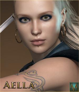 MRL Aella 3D Models 3D Figure Essentials Mihrelle