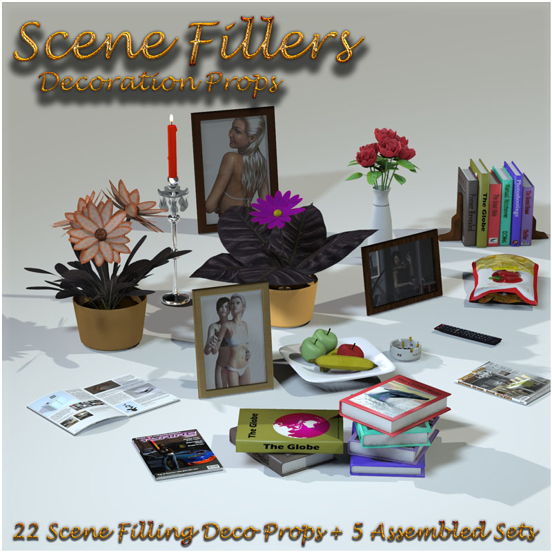SceneFillers: DecoProps by 3-d-c