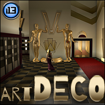 i13 art DECO Props/Scenes/Architecture Themed Software ironman13