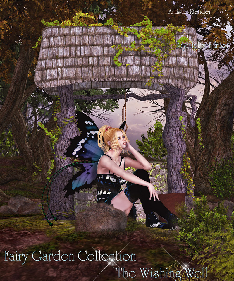 Fairy Garden Collection - Wishing Well