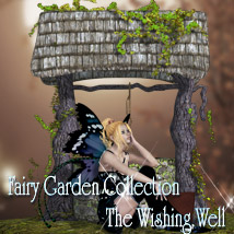 Fairy Garden Collection - Wishing Well Props/Scenes/Architecture Themed kaleya