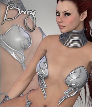 Breeze - Shiloh Fantasykini 3D Figure Essentials P3D-Art