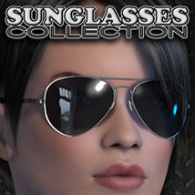 Exnem Sunglasses Collection Props/Scenes/Architecture Themed Software exnem