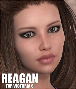 Sabby-Reagan for Victoria 6 3D Figure Essentials 3D Models Sabby