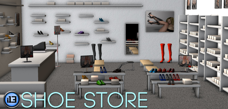 I13 Shoe Store 3d Models Ironman13