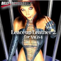 V4 Laceup Leather 2 3D Figure Assets billy-t