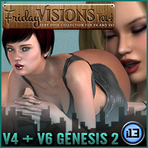 i13 Friday Visions Vol4 Poses/Expressions Software Themed ironman13