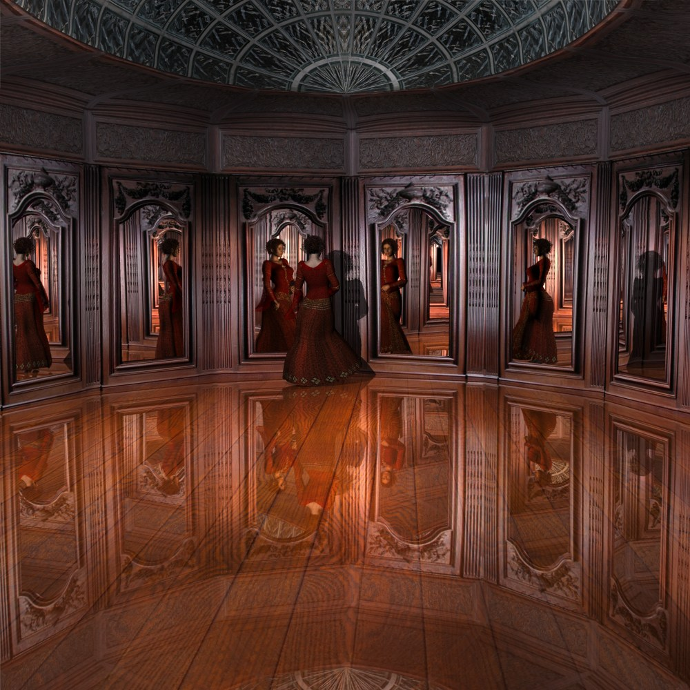 Mirror Room  Warning  Content Advisory  Some images may contain content not  suitable for all viewers. Mirror Room 3D Models kawecki